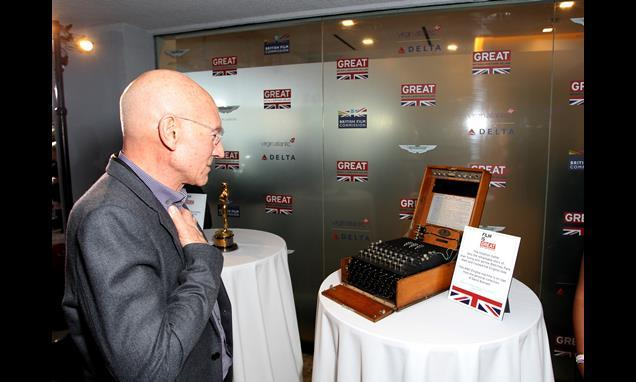 Patrick Stewart surveys the Enigma machine